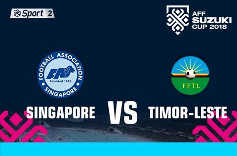 Singapore vs Timor Leste 18h30 ngày 2111 (AFF Cup 2018) hình ảnh