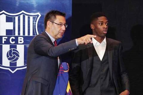 Lãnh đạo Barca và Ousmane Dembele Khi họ tự mình gây nghiệt… hình ảnh