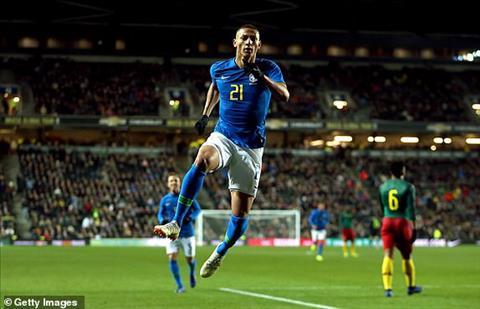 Kết quả Brazil vs Cameroon bóng đá Giao hữu quốc tế 2018 hôm nay hình ảnh