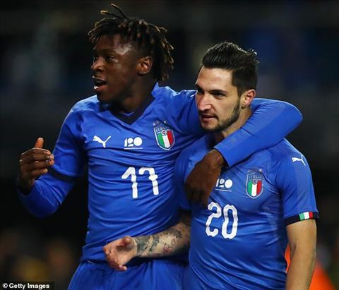 Kết quả Italia vs Mỹ bóng đá Giao hữu quốc tế 2018 rạng sáng nay hình ảnh