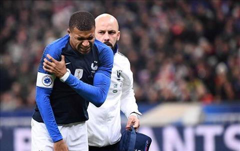 Didier Deschamps nói về chấn thương của Kylian Mbappe hình ảnh