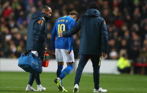 Neymar lên tiếng về chấn thương trên ĐT Brazil hình ảnh
