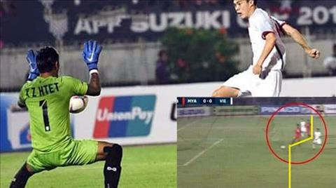 Trọng tài trận Myanmar vs Việt Nam đã sai lầm nghiêm trọng hình ảnh