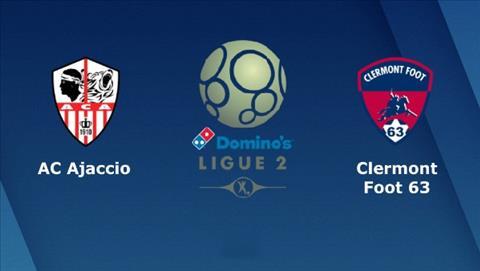 Ajaccio vs Clermont 2h00 ngày 2411 (Hạng 2 Pháp 201819) hình ảnh