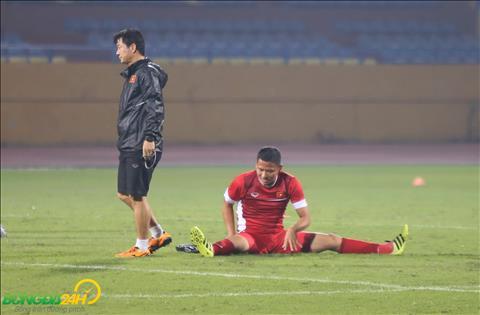 Anh Duc van la chan sut chu luc cua DT Viet Nam tai AFF Cup 2018.