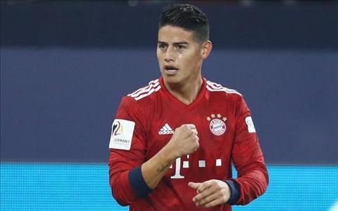 Bayern Munich không vội quyết định tương lai của James Rodriguez hình ảnh