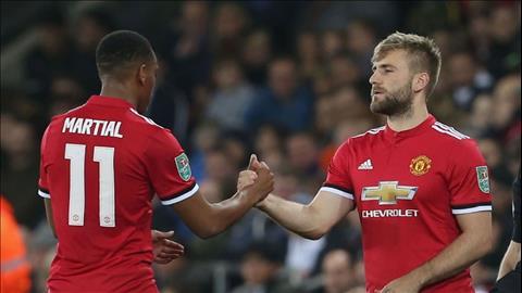 HLV Mourinho chỉ trích Martial và Luke Shaw không chịu lớn hình ảnh