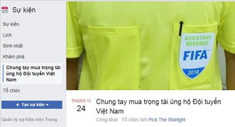 Nguoi ham mo keu goi mua trong tai tran Viet Nam vs Campuchia