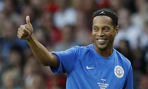 Chính quyền Brazil tịch thu tài sản của ngôi sao Ronaldinho hình ảnh