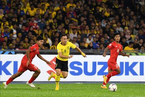 Trận Malaysia 3-0 Myanmar phá kỷ lục về số lượng khán giả tới sân hình ảnh