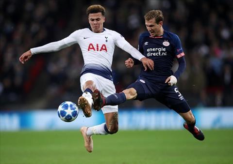 Tottenham vất vả ngược dòng PSV Eindhoven Sự trở lại của Dele Alli hình ảnh 2