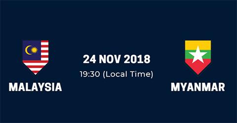 Link xem trực tiếp Malaysia vs Myanmar AFF Suzuki Cup 2018 hình ảnh