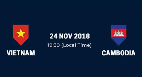 Link xem trực tiếp Việt Nam vs Campuchia AFF Suzuki Cup 2018 hình ảnh