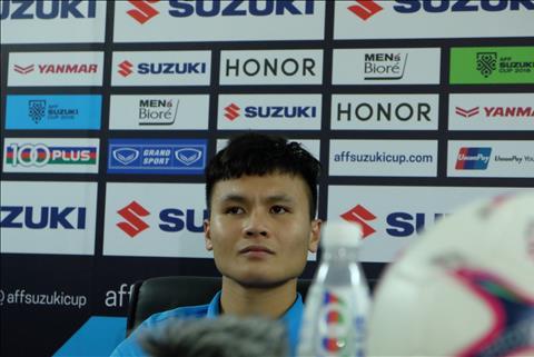Quang Hải chia sẻ sau trận thắng Campuchia