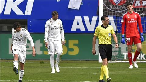 Real thua đắng Eibar, Ramos chỉ trích thái độ thi đấu của đồng ội hình ảnh