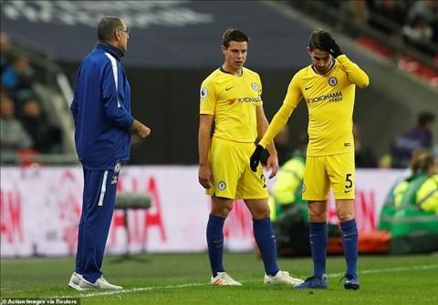 Du am Tottenham vs Chelsea Jorginho