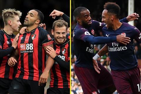 Bournemouth vs Arsenal 20h30 ngày 2511 (Premier League 201819) hình ảnh