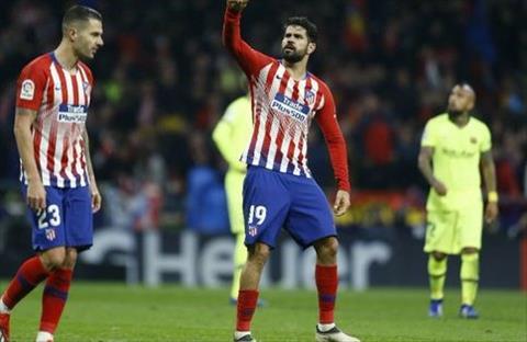 Costa mo ty so cho Atletico