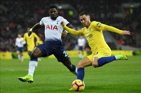 Eden Hazard dính chấn thương mắt cá sau trận thua Tottenham hình ảnh