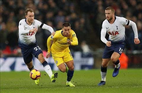 Hazard Tottenham vs Chelsea