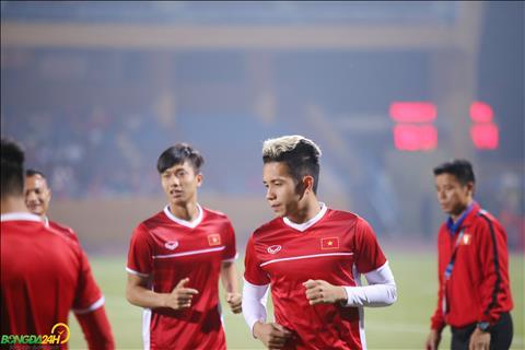 Hong Duy tran gap Campuchia cung duoc HLV Park Hang Seo trao co hoi.