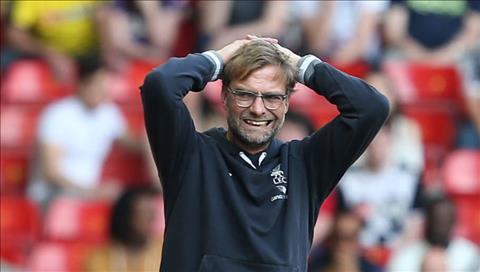 HLV Klopp tran Liverpool vs Watford