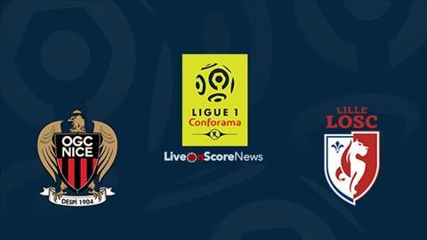 Nice vs Lille 1h00 ngày 299 Ligue 1 201920 hình ảnh