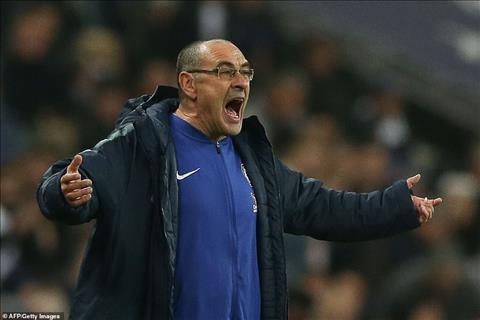 HLV Sarri của Chelsea nói về trận Tottenham vs Inter Milan hình ảnh
