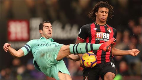 Arsenal vượt ải Bournemouth Mắt xích siêu lỗi Henrikh Mkhitaryan hình ảnh 2
