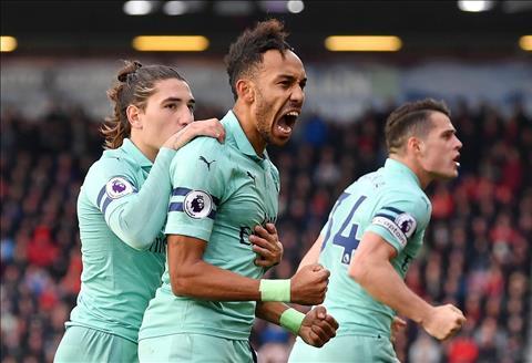 Thống kê Bournemouth vs Arsenal - Vòng 13 Ngoại hạng Anh 201819 hình ảnh