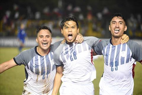Doi tuyen Philippines lan thu 4 lot vao ban ket AFF Cup. Anh: AFF Cup.