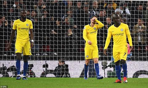 Kante tran Chelsea vs Tottenham