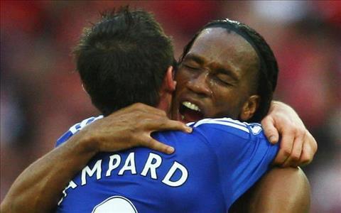 Didier Drogba tiết lộ mối quan hệ với Frank Lampard hình ảnh