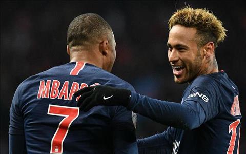 Neymar va Kylian Mbappe