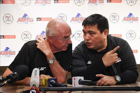 Trưởng đoàn Philippines tự tin vào sức mạnh của thầy trò Eriksson hình ảnh