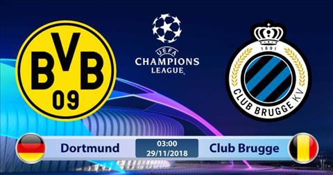 Dortmund vs Club Brugge 3h00 ngày 2911 (Champions League 201819) hình ảnh