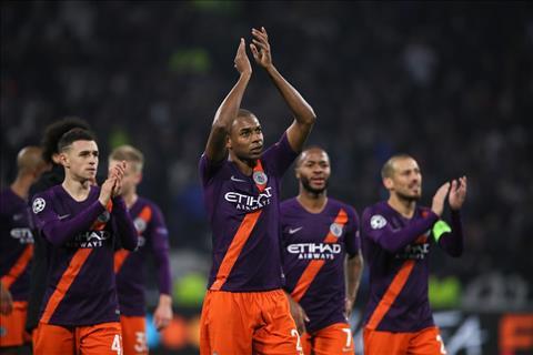 Fernandinho nói về trận Lyon vs Man City hình ảnh 2