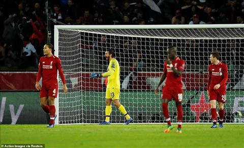 Liverpool dung truoc kha nang bi loai ngay tu vong bang