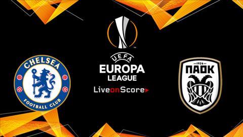 Trực tiếp Chelsea vs PAOK bóng đá UEFA Europa League 20182019 hình ảnh