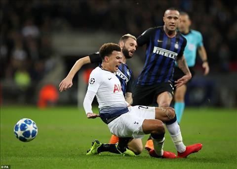 Tottenham da gap vo van kho khan truoc Inter Milan