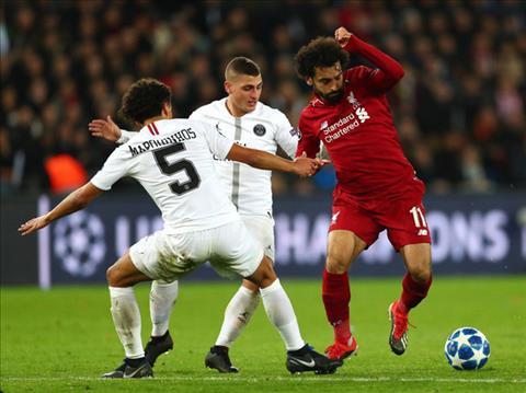 Kết quả PSG 2-1 Liverpool Thất bại toàn diện của Lữ đoàn đỏ hình ảnh