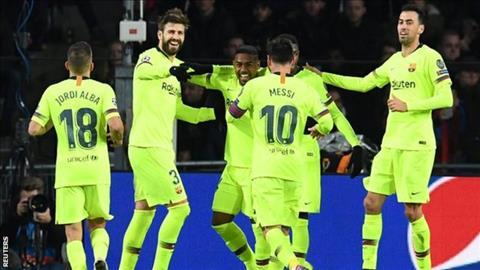 Lionel Messi phát biểu sau trận PSV 1-2 Barca hình ảnh