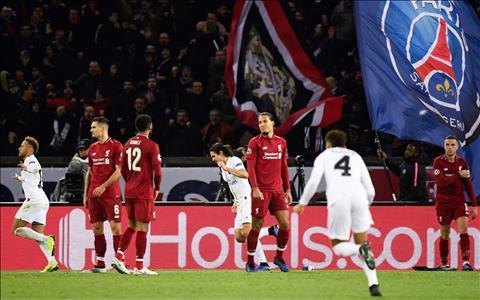 PSG 2-1 Liverpool Những gam màu tương phản hình ảnh 3