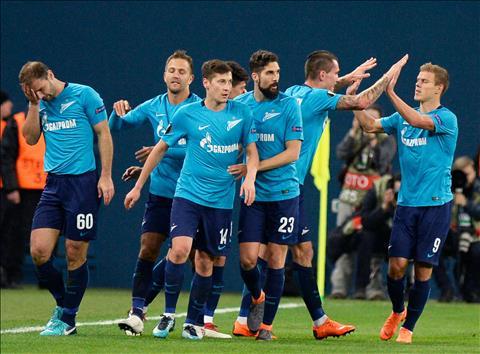 Zenit vs Copenhagen 0h55 ngày 3011 (Europa League 201819) hình ảnh