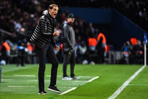 HLV Thomas Tuchel noi ve tran PSG vs Liverpool