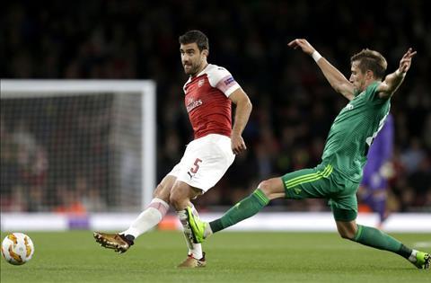 Arsenal v Vorskla Sokratis