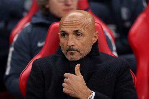 HLV Luciano Spalletti noi ve tran Tottenham vs Inter Milan
