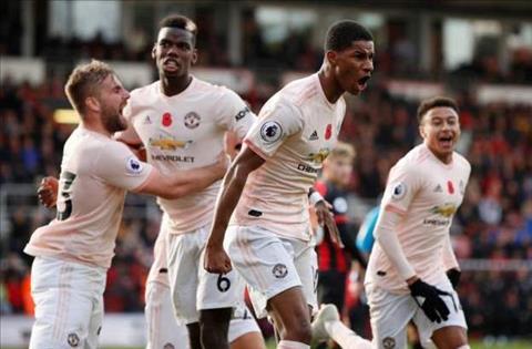 Những thống kê đáng nhớ sau trận đấu Bournemouth 1-2 MU hình ảnh