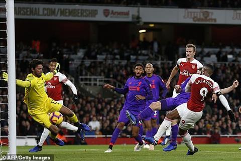 Dư âm Arsenal vs Liverpool Pháo cuối cùng cũng được bọc thép hình ảnh