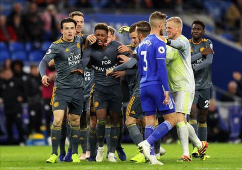 Video bàn thắng Cardiff vs Leicester 0-1 Premier League đêm qua hình ảnh